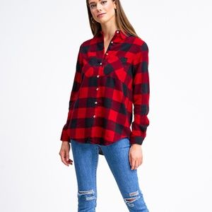 Classic Flannel Button Up